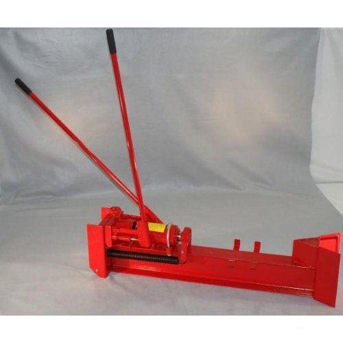 Sale!! 10 Ton Horizontal Log Wood Cutter Splitter Manual Hydraulic 2 Speed Wheel