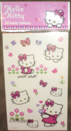 20 Assorted Hello Kitty Tattoos - Buy 20 Assorted Hello Kitty Tattoos