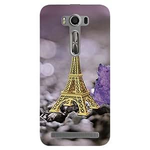 Kaira brand Designer Hard Back Case Cover for Asus Zenfone 2 Laser (Eiffel Tower)