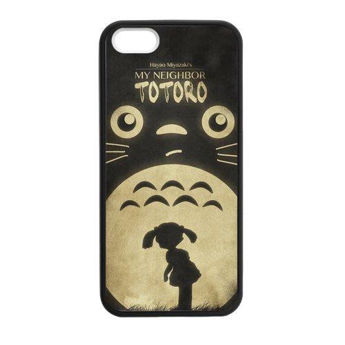 [Custom Case for iPhone 5,5S TPU totoro discount cheap stylish phonecase] (Totoro Diy Costume)