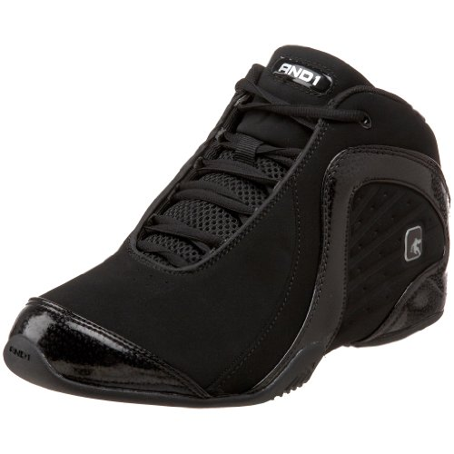AND 1 Men's Rocket 2 Basketball Shoe,Black/Black Synthetic,10 M US