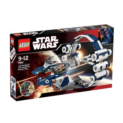 LEGO Star Wars 7661: Jedi Starfighter with Hyperdrive Booster Ring