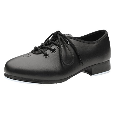 Kid'S Unisex Jazz Tap Shoe,Dn3710Gblk11.0W,Black,11.0W back-745765