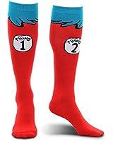 Elope Dr. Seuss Thing 1 & 2 Knee High Socks