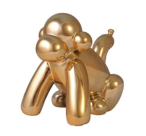 Made By Humans Balloon Monkey Money Bank, Gold