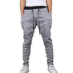 TripKnack Men's Harem Sweat Pants Sports Jogger Dance Trouser