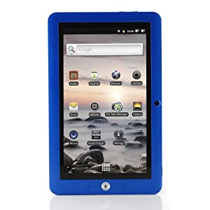 "Coby 7"" Inch Kyros Touchscreen Internet Tablet 4G Android OS 2.3 Dark Blue - Coby MID7120-4G (Exclusive Color)"