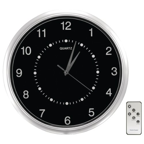Wall-Clock Color Camera with SD Card Recorder - SECURITY MAN