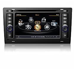 See susay for Audi A8 Car DVD Player With GPS Navigation(free Map)Audio Video Stereo System with Bluetooth , USB/SD, AUX Input, Radio(AM/FM), TV, Plug & Play Installation Details