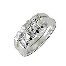 buy Diamond Bridal Set Semi Mount Ring & Wedding Band 0.40 Ct Tw In 14K White Gold.Size 5.5