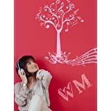 WALLMANTRA The Music Tree Wall Decal Wall Sticker : Size XL(42x41) Inches