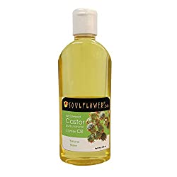 Soulflower Coldpressed Castor Carrier Oil 200ml
