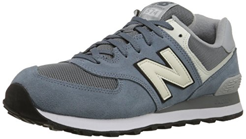 New Balance - ML574VAC - ML574VAC - Couleur: Blanc-Bleu-Gris - Pointure: 50.0