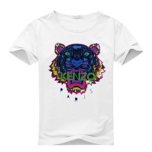 KENZO Tiger Head For 2016 Mens Printed Short Sleeve tops t shirts