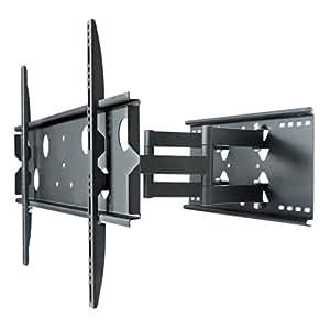 Universal-Funktions TV Wandhalterung 5015 schwenk-, neig- und ausziehbar - bis 80kg - 32-60 Zoll - AB 82cm BILDSCHIRMBREITE