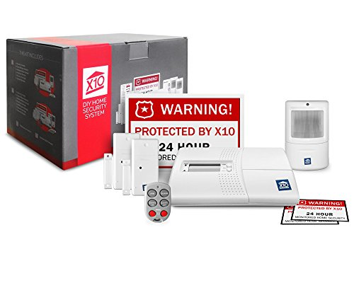 X10 Beginner Package No Monthly Fee Home Security Starter