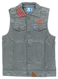 Adidas Mens Adidas Originals Utility Jacket Vest Grey L