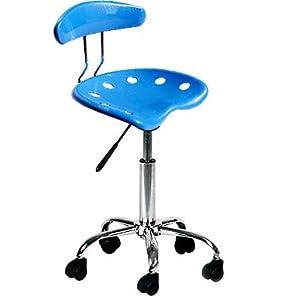 Bleu bureau chaise de bureau pivotante cuisine - Amazon chaise de bureau ...
