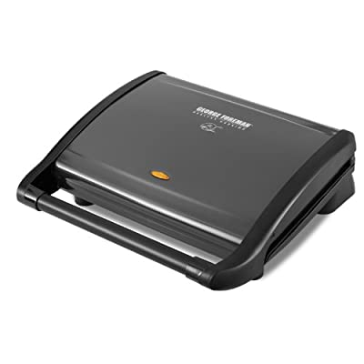 George Foreman GRV120GM Electric Contact Grill from WINQ9