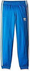 adidas Originals Boys' Trousers (AI6183_Blue and White_7 - 8 years)