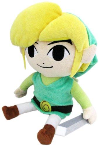 "Sanei The Legend of Zelda The Wind Waker 7"" HD Link Plush - 1"