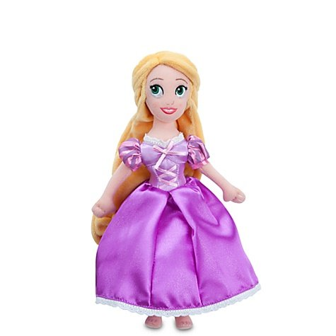 41LMK2K6RiL Mini Rapunzel Plush Doll    11 H