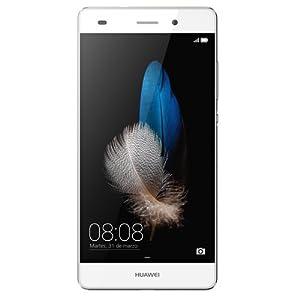 Huawei P8 Lite Smartphone débloqué 4G (Ecran : 5 pouces - 16 Go - Double SIM - Android 5.0 Lollipop) Blanc
