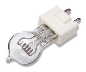 GE 600 Watt Overhead Projector Lamp, 120 Volt, 2-Pin, Ceramic Base (VA-DYS-6)