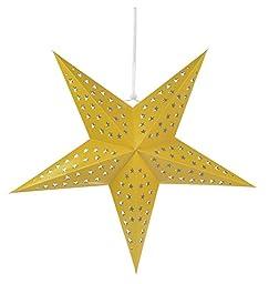Solid Yellow Star Lantern