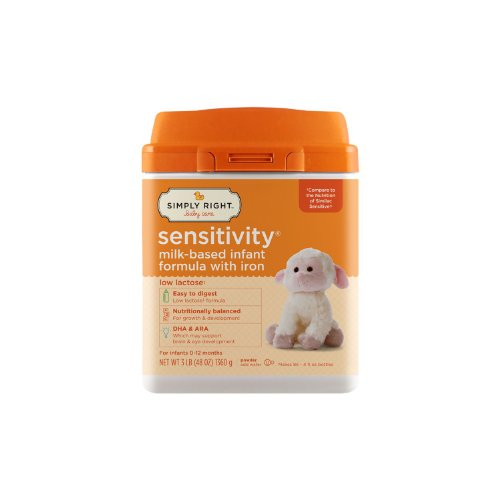 Simply Right Sensitivity Infant Milk Based Formula 48 oz.