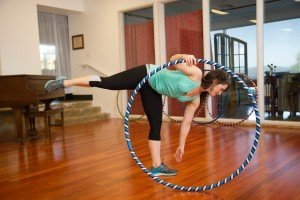 """Weighted Hula Hoop for Exercise and Fitness - 42"""" Diameter Regular Adult"""