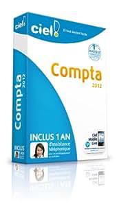 Ciel Compta 2012 + 1 an d'assistance téléphonique