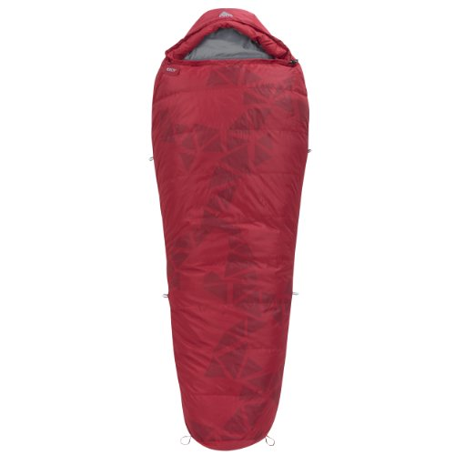 Kelty Cosmic Down 20-Degree Sleeping Bag, Red, 6-Feet 6-Inch