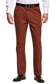 Tapered Chinos with Stretch & Adjustable Waist [T17-6370M-S]