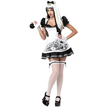 Dark Alice Costume - Small - Dress Size 6-8