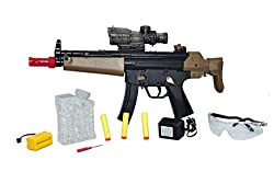Sunshine Rechargeable Battery Operated Gun with Dual Shooting Mode + Free