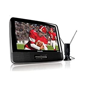 "PHILIPS PVD900 9"" Portable Widescreen LCD HDTV"