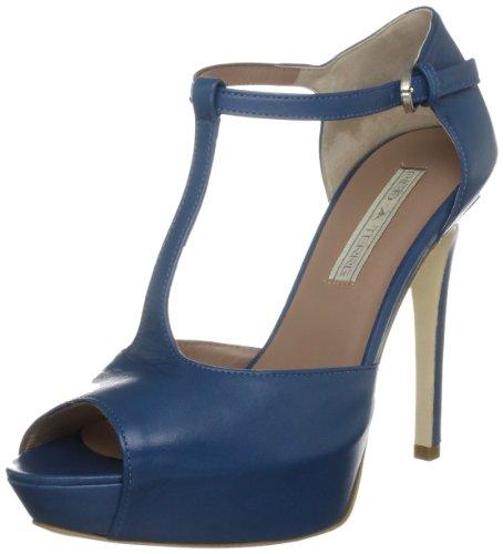 Pied A Terre Women's Abuta Blue T Straps Heels 0434503680001041 6 UK