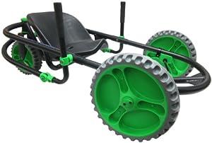 YBIKE Explorer Go-Kart, Black/Green