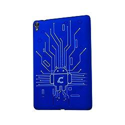 Case for Google Nexus 9 Cruzerlite Bugdroid Circuit TPU Back Cover case for HTC Nexus 9 Tablet - Blue