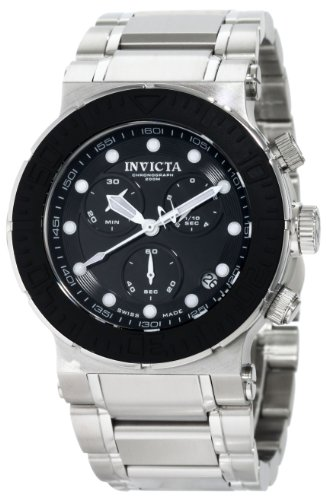invicta-mens-1464-reserve-collection-chronograph-black-dial-stainless-steel-watch