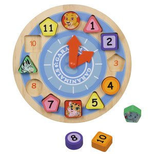 Garanimals Shape Sorting Clock - 1