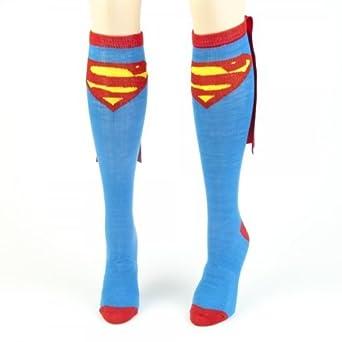 Superman Juniors Blue Cape Socks