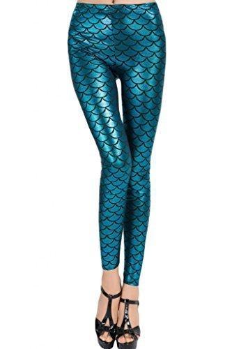 cfanny-womens-metallic-scales-print-mermaid-legging-blue-one-size