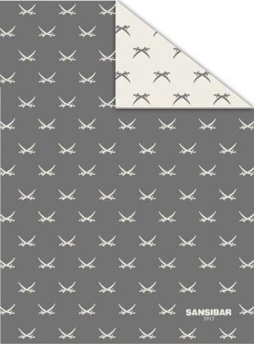 Coperta 150 x 200 cm arredo casa Sansibar divano coperta con spada immagine all over 01