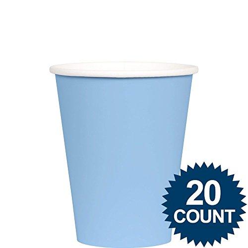 Pastel Blue 9oz Cups