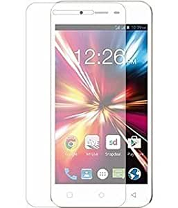 Real Shopping 0.3mm Premium Anti Explosion Tempered Glass, 9H Hardness Ultra Clear, Anti-Scratch, Bubble Free, Anti-Fingerprints & Oiled Stains Coating for Micromax Canvas Spark Q380