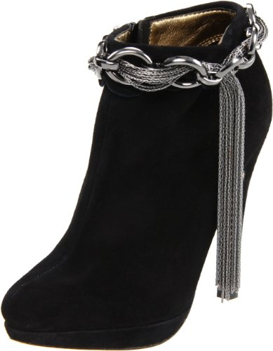 Bourne Women's Carrie Black Ankle Boot L08548 5 UK