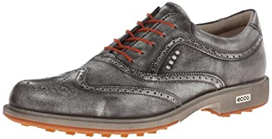 Buy ECCO Mens Tour Hybrid Wing Tip Golf Shoe by ECCO
