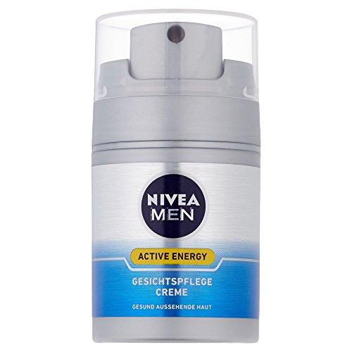 Uomini Nivea Crema Cura del viso Energia Attiva, 1er Pack (1 x 50 ml)